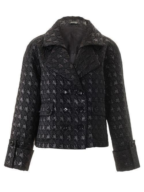 DOUBLE-BREASTED JACKET WITH REGLAN SLEEVES 3