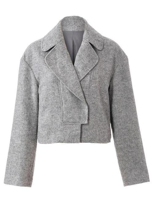 SHORT JACKET WITH SLEEVED ARMS 2