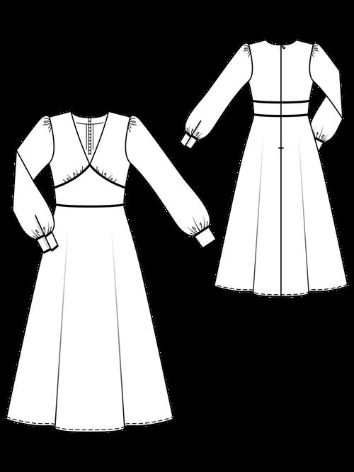 70'S CUT-OFF DRESS 3